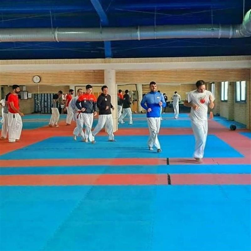 آغاز ازدوی ملیپوشان کاراته/ شاگردان هروی تا 5 تیر در اردو خواهند بود