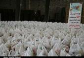 1500 بسته معیشتی کمک مؤمنانه طرح ایران همدل در استان کرمان توزیع شد + تصویر