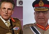 سفر همزمان رئیس ستاد ارتش پاکستان و انگلیس به افغانستان