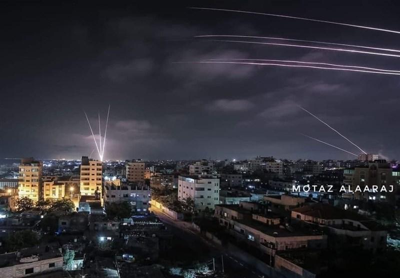 لحظه به لحظه با قدس اشغالی|شلیک بیش از 100 راکت و موشک به سمت اشغالی فلسطین +فیلم و عکس