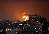 حمله رژیم صهیونیستی به دو پایگاه مقاومت فلسطین در غزه