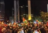 اعتراضات سراسری مردم ترکیه بر علیه رژیم صهیونیستی+ عکس