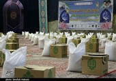 20000 بسته کمک مؤمنانه قرارگاه امام حسن مجتبی(ع) در استان کرمان توزیع میشود + تصاویر