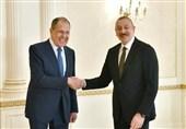 مذاکرات لاوروف با رئیس جمهوری آذربایجان در باکو