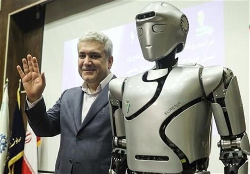 """ربات ایرانی """"سورنا"""" در جمع 10 ربات برتر سال 2020"""