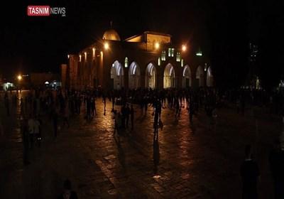 المرابطین فی الأقصى یسطرون أروع الملاحم فی مواجهة الاحتلال وقوته الغاشمة