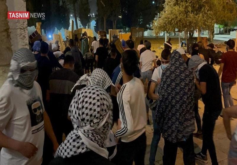 المرابطین فی الأقصى یسطرون أروع الملاحم فی مواجهة الاحتلال الإسرائیلی وقوته الغاشمة+ فیدیو