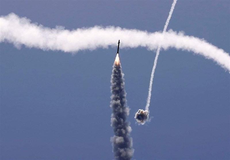 شلیک راکت از غزه به اراضی اشغالی