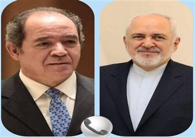 گفتگوی تلفنی ظریف و همتای الجزایری در خصوص تحولات منطقهای و بینالمللی