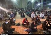 مراسم شب وداع با ماه رمضان در مهدیه قزوین به روایت تصویر