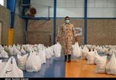 1500 بسته کمک مؤمنانه بسیج حضرت امیرالمومنین (ع) کرمان توزیع شد + تصاویر