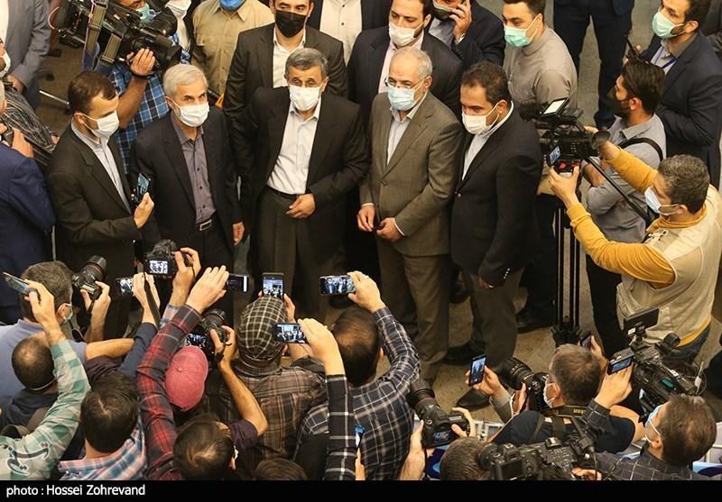 محمود احمدینژاد , انتخابات ریاست جمهوری 1400 ,