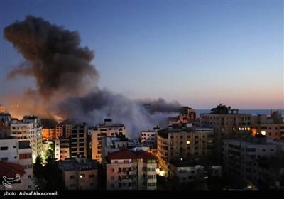 الاحتلال الصهیونی یستمر بجرائمه والمقاومة صامدة ومصرة على الرد