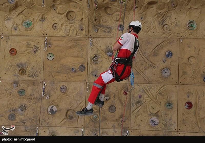مانور امداد و نجات هلال احمر خراسان شمالی به روایت تصاویر