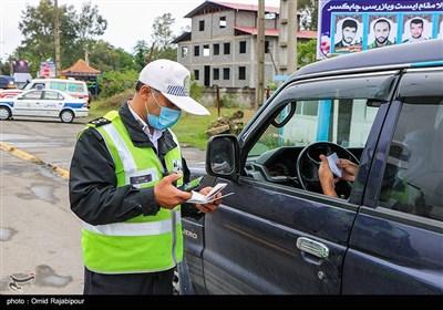 5000 خودرو از مبادی ورودی استان مازندارن به مبداء بازگردانده شد