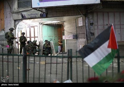 Youths in West Bank Hold Protest in Support of Quds