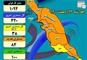 جولان کرونا در استان بوشهر با فوت 5بیمار دیگر ادامه دارد