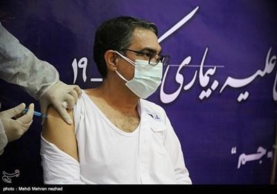 عنوان واکسیناسیون سراسری در شهرستان جم - بوشهر