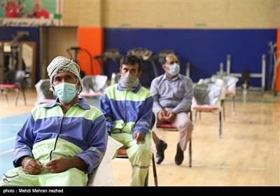 واکسیناسیون سراسری در شهرستان جم - بوشهر