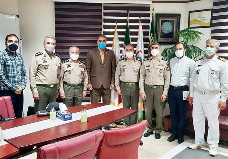 دیدار رئیس سازمان تربیت بدنی ارتش با رئیس فدراسیون ورزشهای همگانی کشور