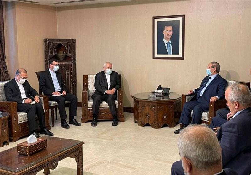 تأکید ظریف بر حمایت ایران از سوریه در برابر افراطگرایی و تروریسم
