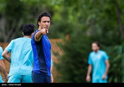 تمرین تیم فوتبال استقلال
