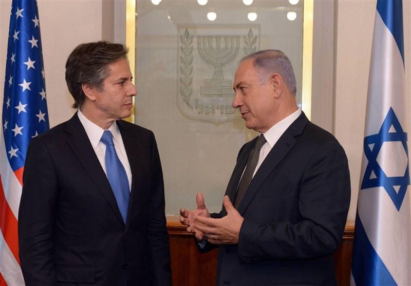 گفتگوی تلفنی بلینکن-نتانیاهو درباره تحولات اخیر سرزمینهای اشغالی؛ قدردانی نتانیاهو از حمایتهای واشنگتن