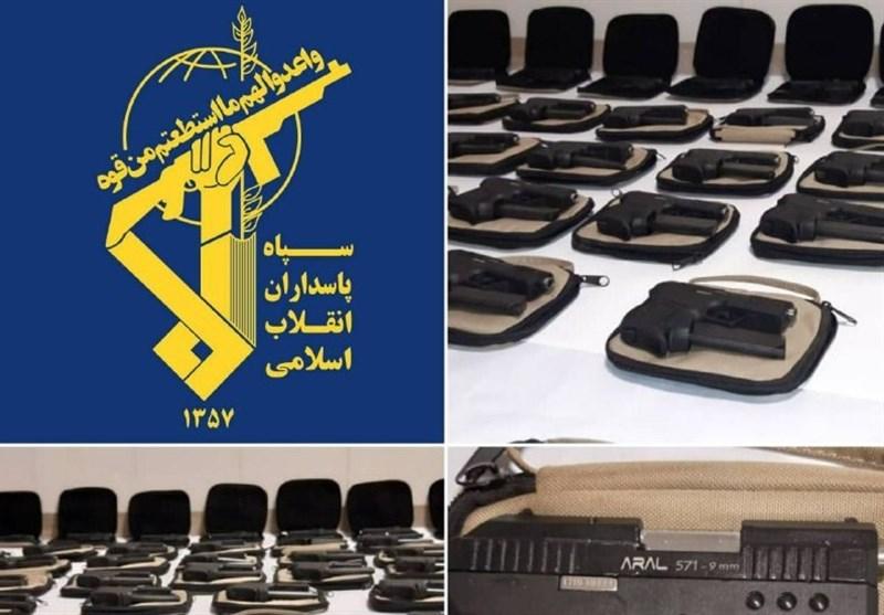 خنثیسازی عملیات تروریستی در آستانه انتخابات / کشف 130 قبضه سلاح ویژه ترور با هوشیاری سپاه ایلام