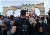 فراخوان حماس برای تجمع در مسجد الاقصی در روز سه شنبه برای مقابله با تظاهرات پرچم