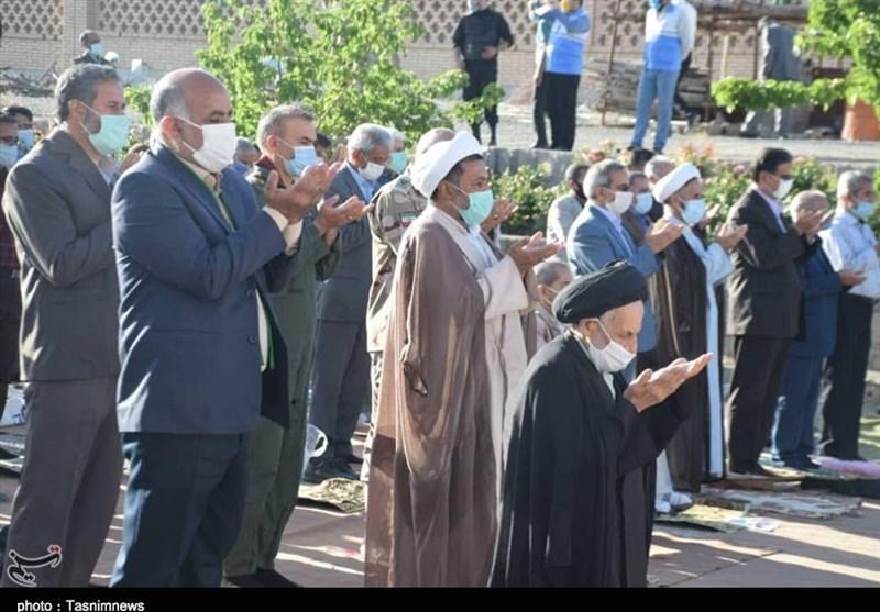 برپایی نماز عید فطر در بیرجند به روایت تصویر