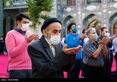 اقامه نماز عید سعید فطر- امامزاده صالح(ع)