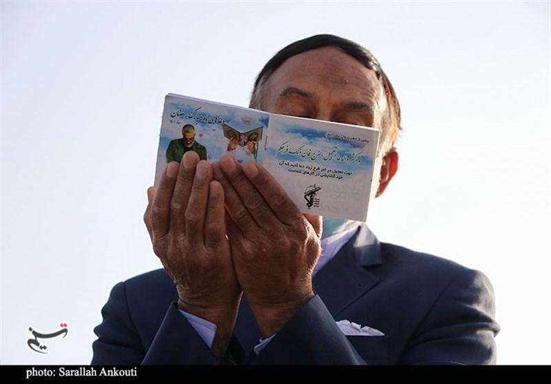 روایت تصویری تسنیم از عبودیت خالصانه مردم دیار حاج قاسم در عید بندگی فطر