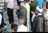 نماز عید فطر در حرم حضرت معصومه(س) و مسجد جمکران اقامه شد