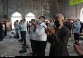 برپایی نماز عید سعید فطر در مصلی کاشان به روایت تصویر