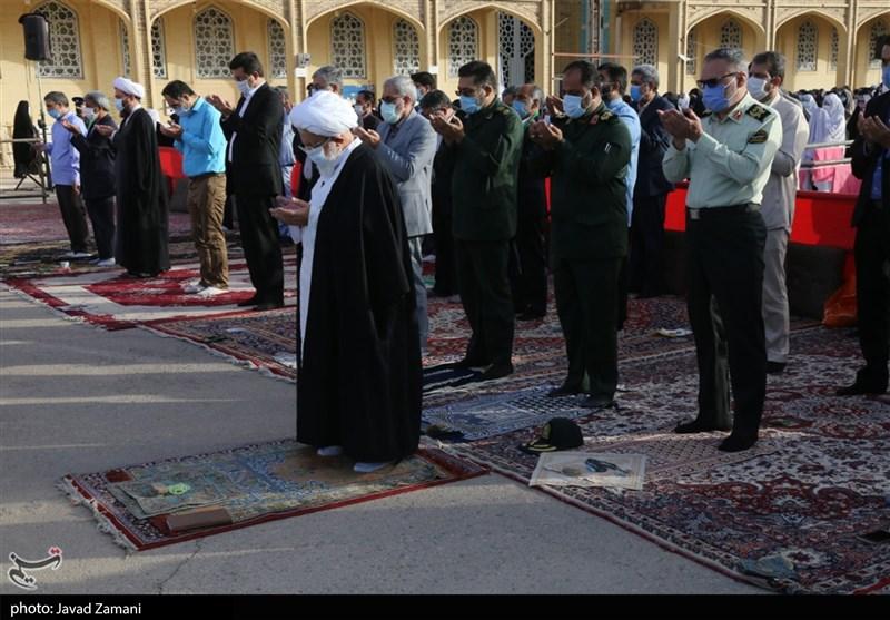 نماز عید سعید فطر در یزد به روایت تصویر