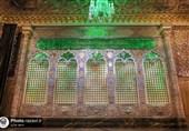 """پنجره جدید زیارت در رواق مبارکه """"دارالحجه"""" حرم رضوی رونمایی شد"""