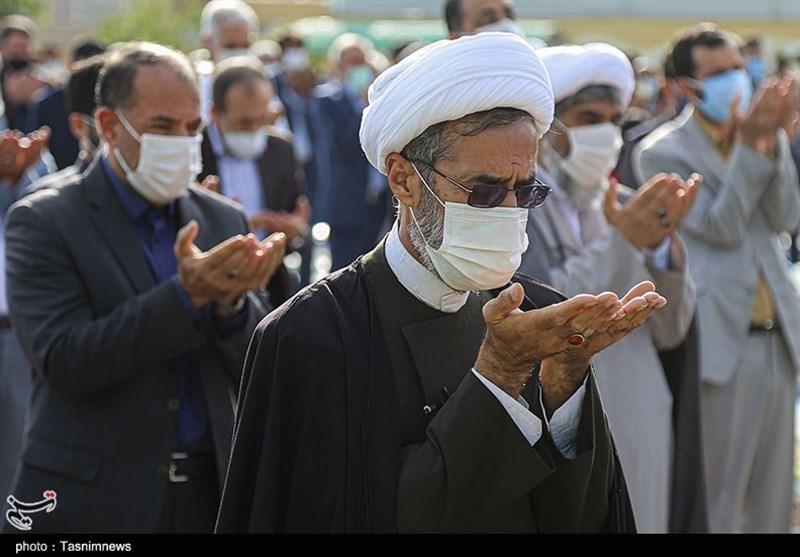 نماز عید سعید فطر در بجنورد به روایت تصویر