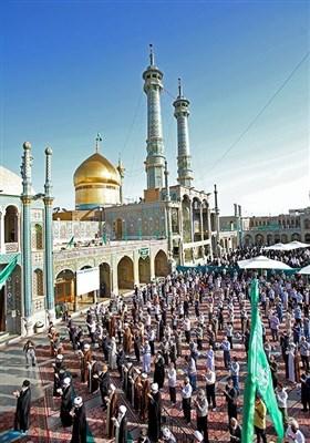 اقامه نماز عید سعید فطر-حرم حضرت معصومه (س)