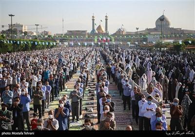 نماز عیدفطر حرم حضرت عبدالعظیم حسنی (ع)