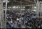 اقامه نماز عید سعید فطر در سمنان به روایت تصویر