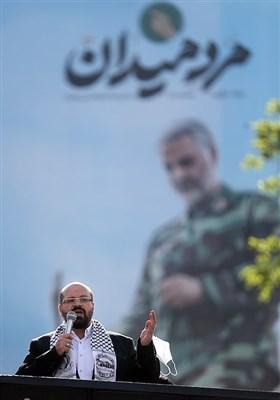 سخنرانی خالد قدومی نماینده جنبش جهاد اسلامی فلسطین