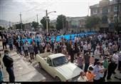 نماز عید سعید فطر در استان کرمانشاه اقامه شد + تصاویر