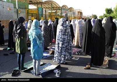اقامه نماز عید سعید فطر در شهرک اکباتان