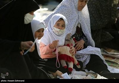 نماز عید سعید فطر در میدان شهید پژوتن یافت آباد