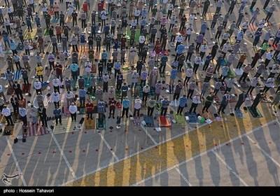 اقامه نماز عید سعید فطر در کیش