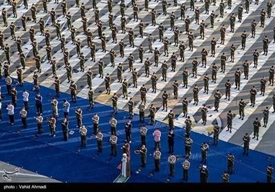 اقامه نماز عید سعید فطر در دانشگاه افسری امام علی (ع)