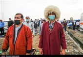 اقامه نماز عید سعید فطر در بندر ترکمن