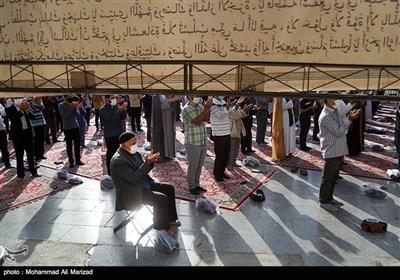 صلاة عید الفطر فی مختلف أنحاء إیران
