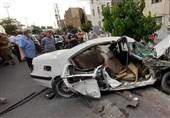 تصادف مرگبار پرشیا با تیر چراغ برق در بزرگراه آبشناسان + فیلم و تصاویر