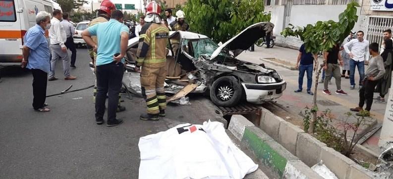 آتشنشانی , سازمان آتشنشانی تهران , حوادث , پلیس راهور | پلیس راهنمایی و رانندگی , اورژانس ,